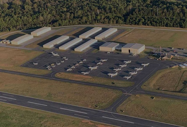 Davidson County Airport Aerial