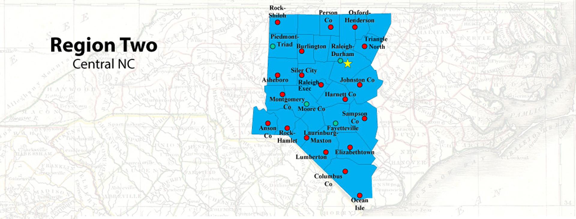 Central Region of NCAA